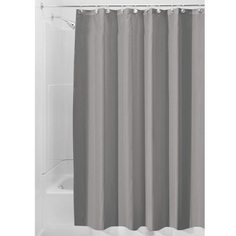 Grey Shower Curtain Liner By Interdesign