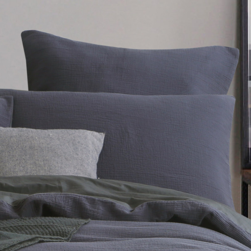 Chaucer Navy Bedding By Daniadown Heirloom Linens