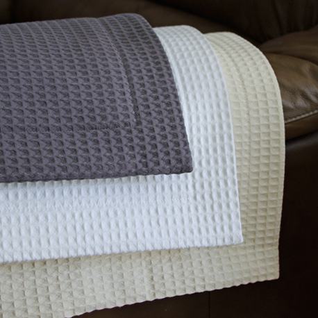 Waffle Weave Bedding By Cuddle Down Heirloom Linens