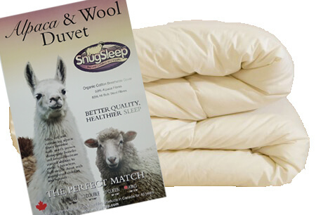 Alpaca Wool Duvet by SnugSleep