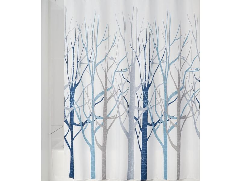 Forest Blue <br>Shower Curtain