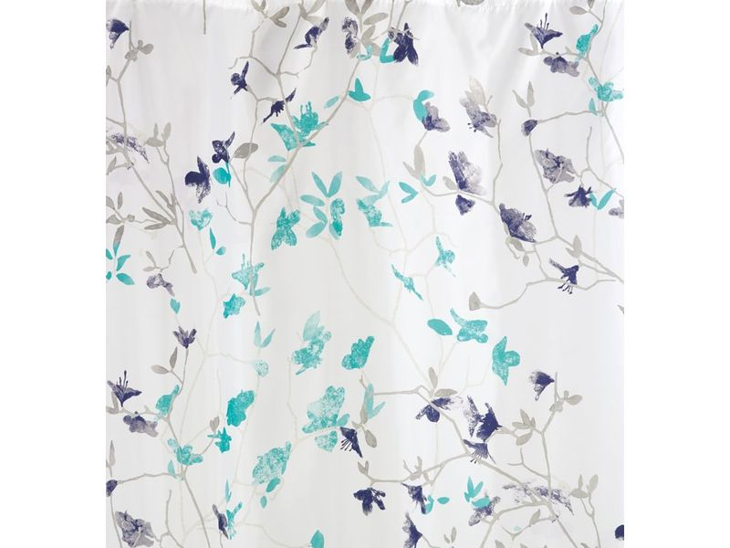 Twiggy Floral <br>Shower Curtain