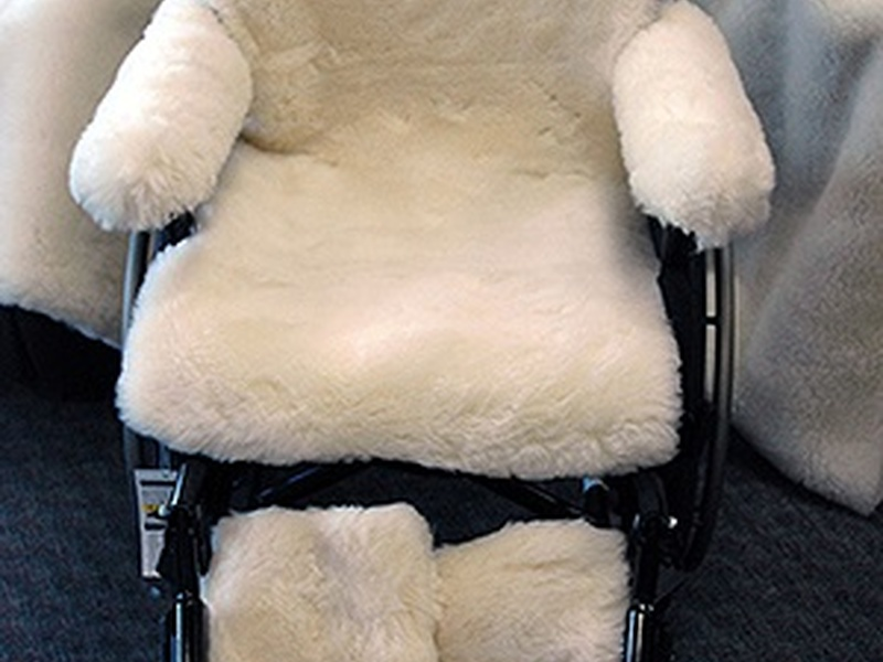 Wool <br>Wheelchair Covers