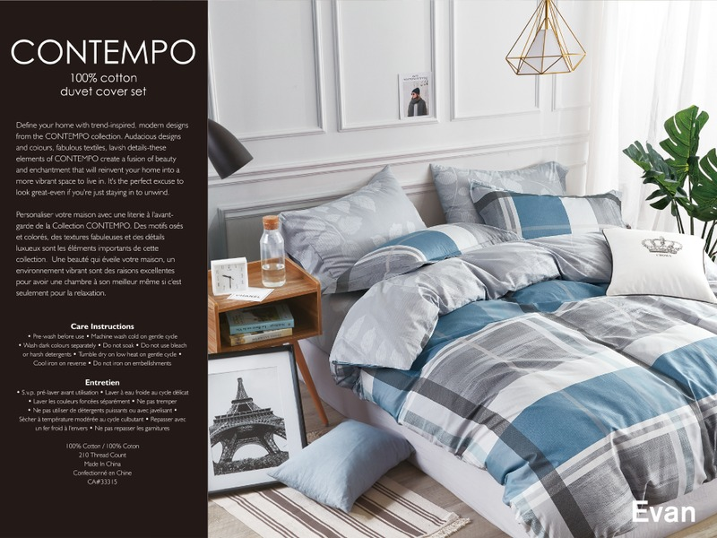 Evan Bedding by Contempo