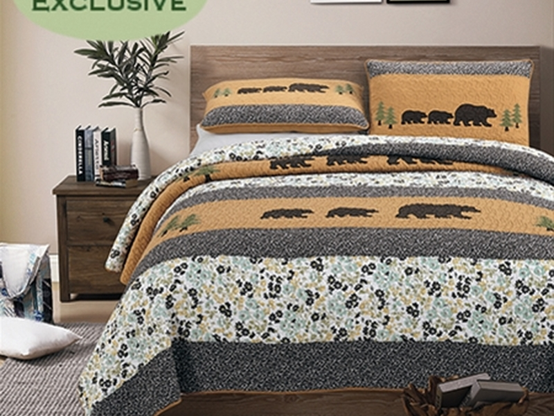 Bear Creek Quilt <br>by Cotton On