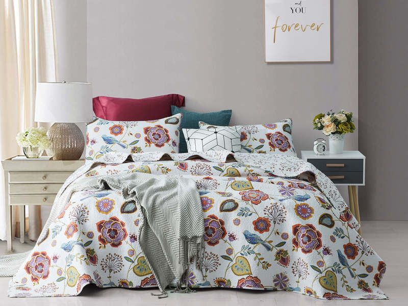 Riviera Quilt Set by Peace Arch