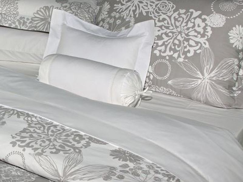 Angelica Grey Bedding by Revelle