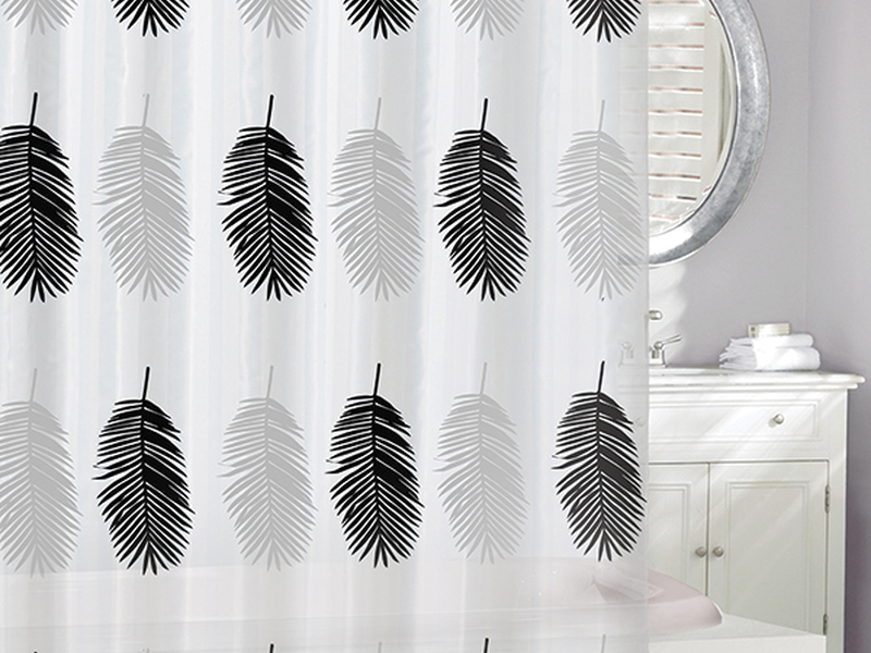 Big Leaves <br>Shower Curtain