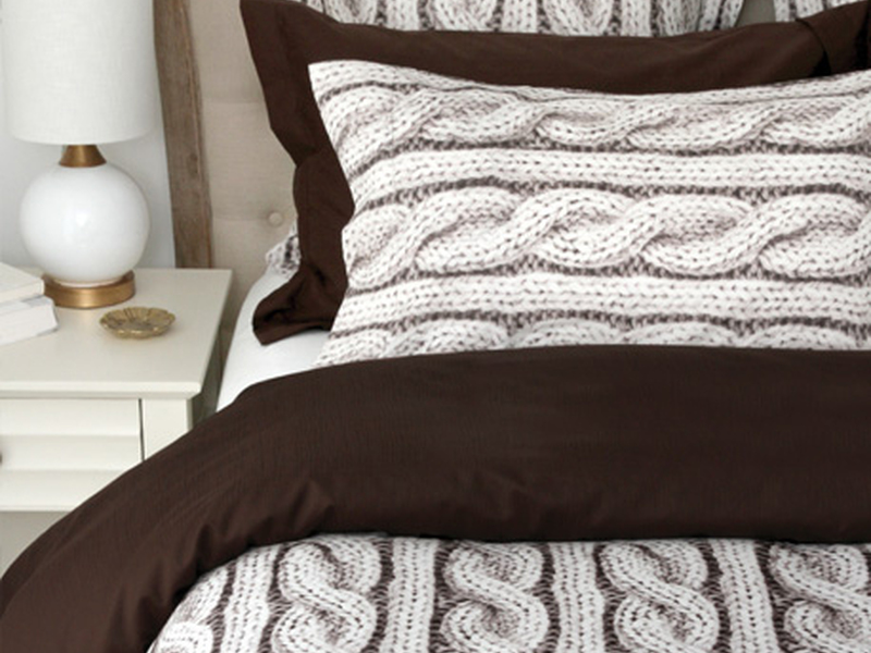 Cable Knit Bedding <br>by Cuddle Down