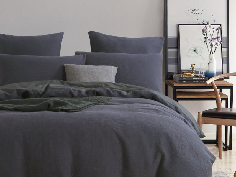 Chaucer Navy Bedding by Daniadown