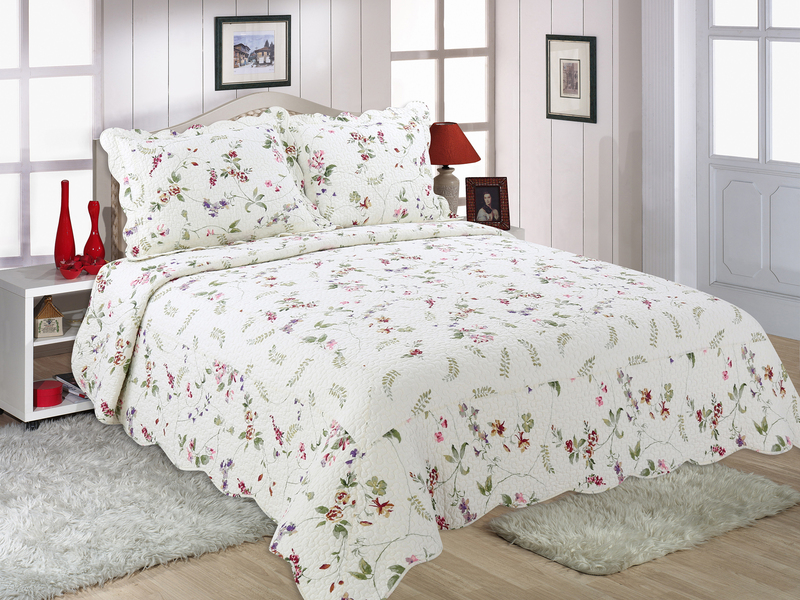 Cottage Garden Quilt Set by Peace Arch