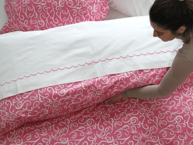 Courtney Pink Bedding <br>by Cuddle Down
