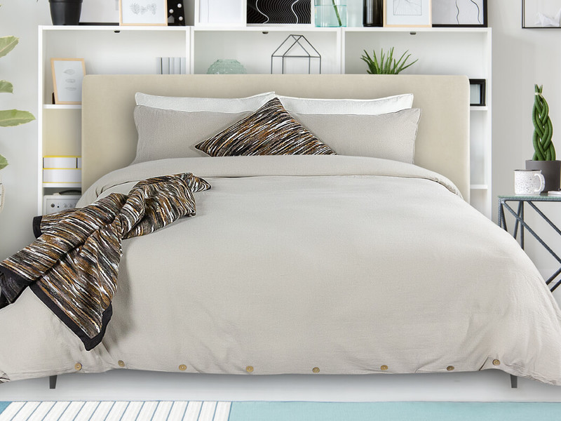 Coxen Sand Bedding <br>by Alamode