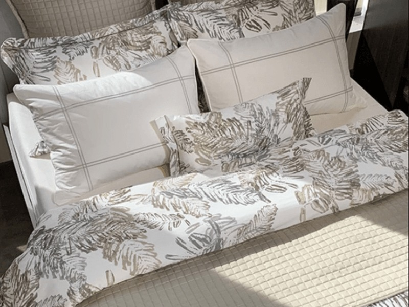 Ferny Taupe Bedding <br>by Revelle
