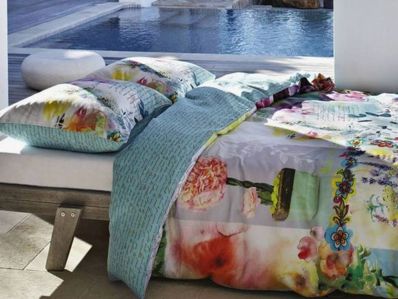 Flower Bomb Bedding <br>by Fountain Bleu