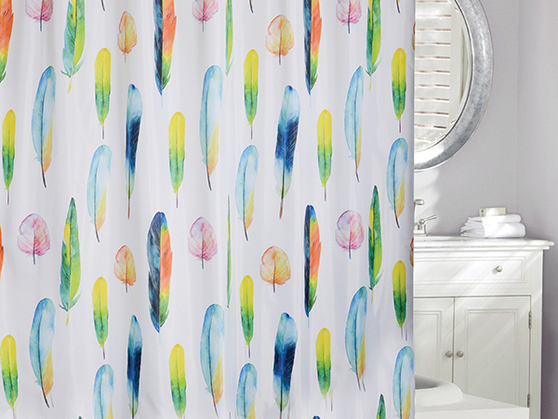 Fresh Feathers <br>Shower Curtain