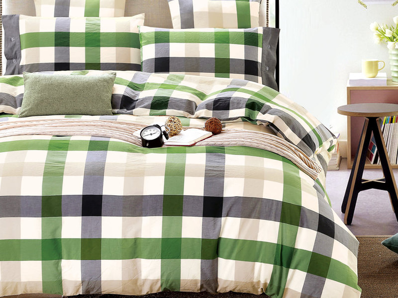 Fresh Plaid Bedding <br>by Daniadown