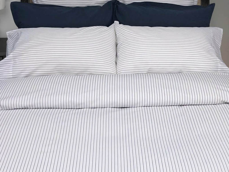 Georgia Stripe Marine Bedding <br>by Cuddle Down