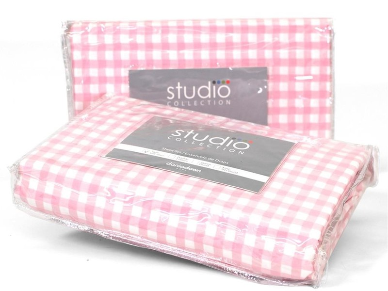 Pink Gingham Bedding by Daniadown