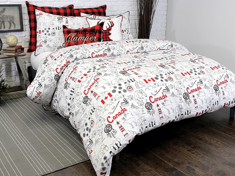 Great White North Bedding by Alamode
