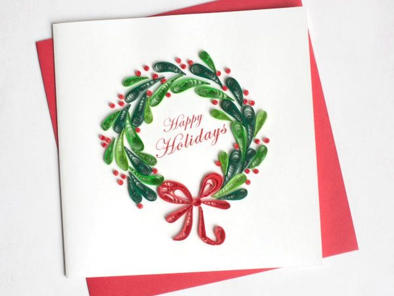 Holiday Quilling Cards