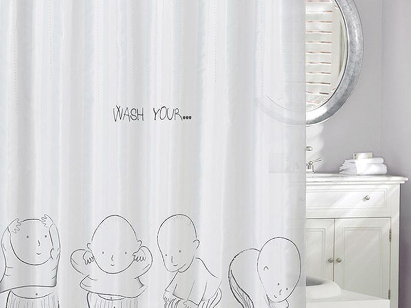 Head & Shoulders <br>Shower Curtain