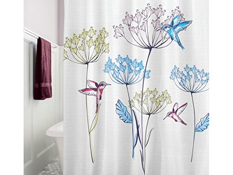 Hummingbird <br>Shower Curtain