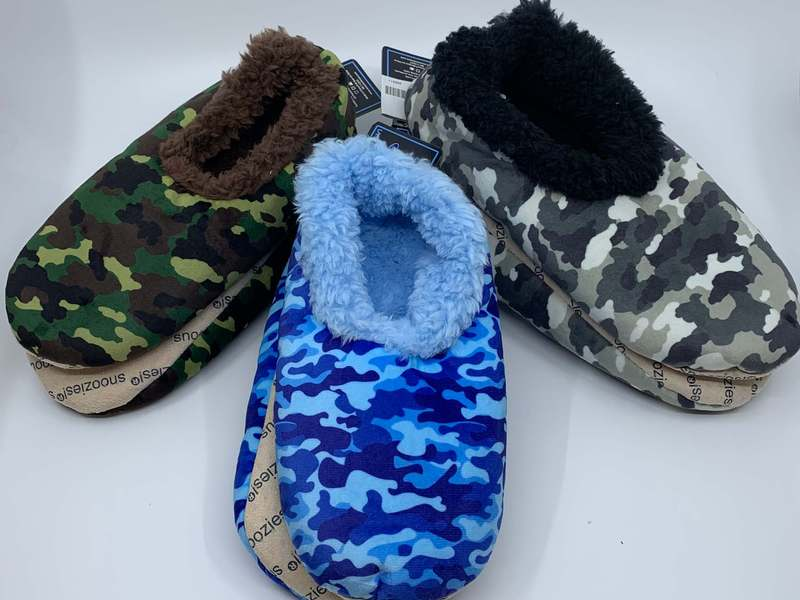Men's Camo Snoozies