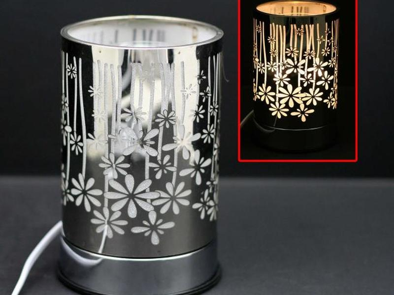 Silver Garden Touch Lamps