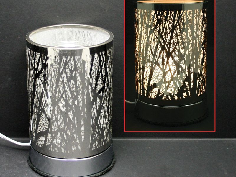 Silver Forest Touch Lamps