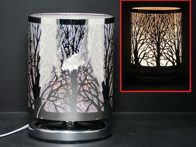 Oval Forest Touch Lamps with Scented Oil Holder