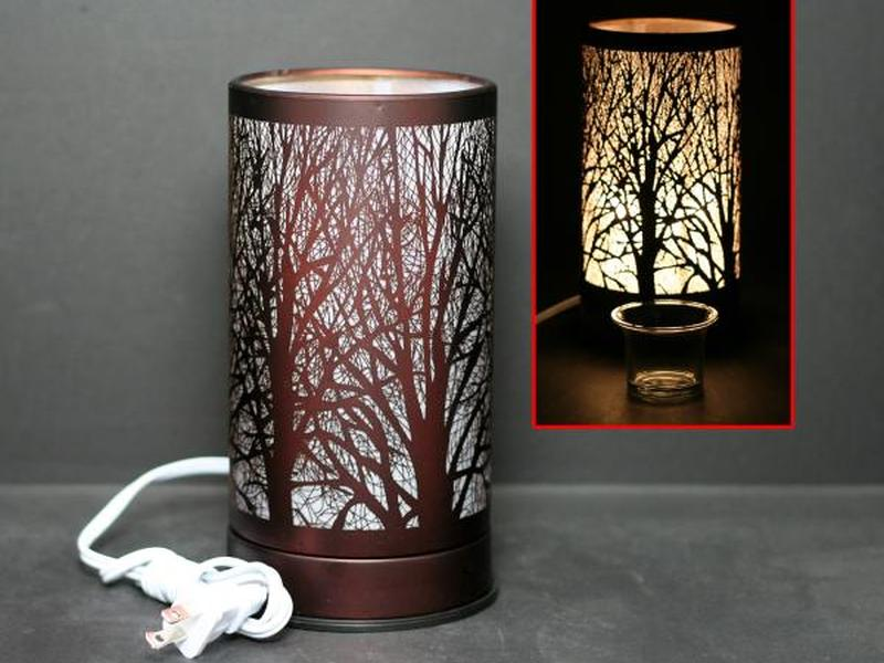 Copper Forest Touch Lamps