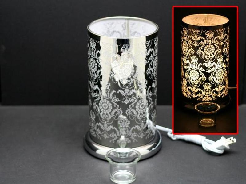 Silver Lotus Touch Lamps