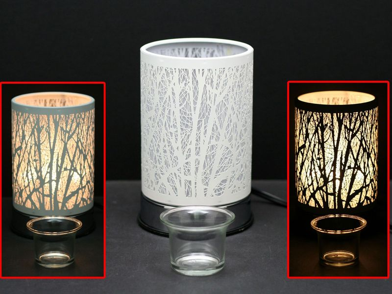 White Forest Touch Lamps