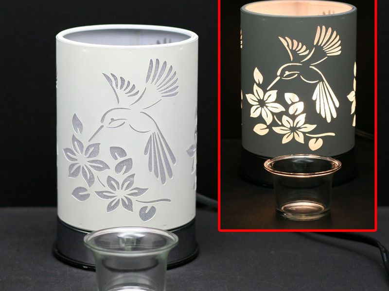 White Hummingbird Touch Lamps