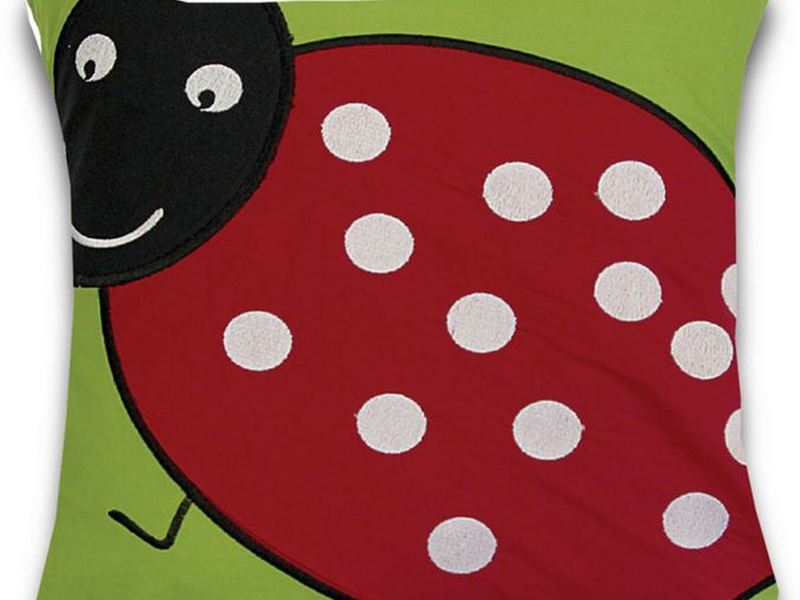 Lady Bug Cushion