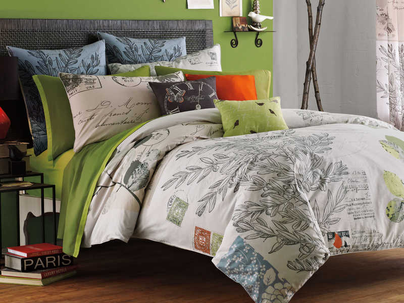 Letters from Paris Bedding by Kas