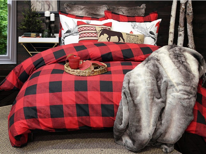 Loxley Flannel Bedding <br>by Alamode