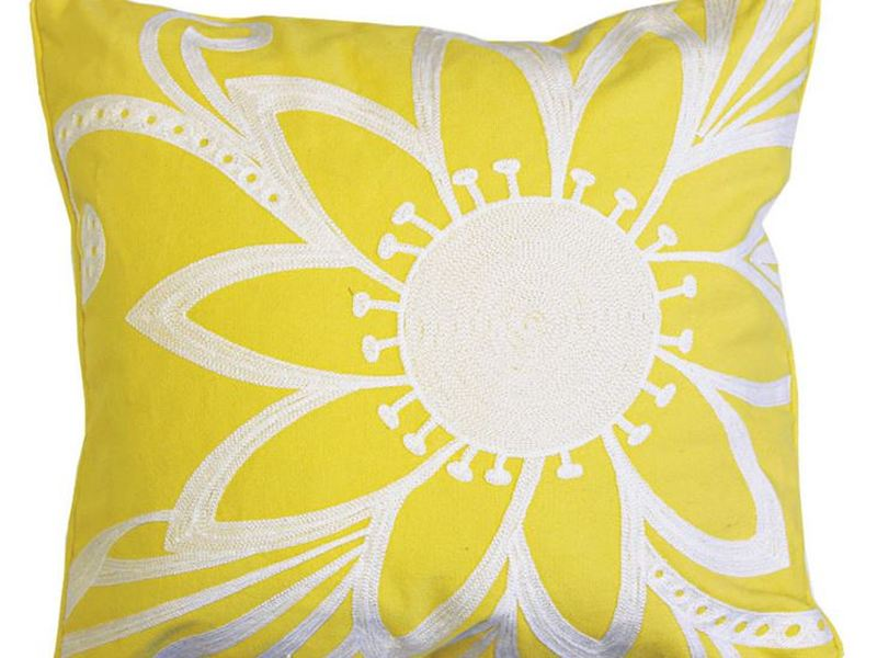 Mellow Yellow Cushion