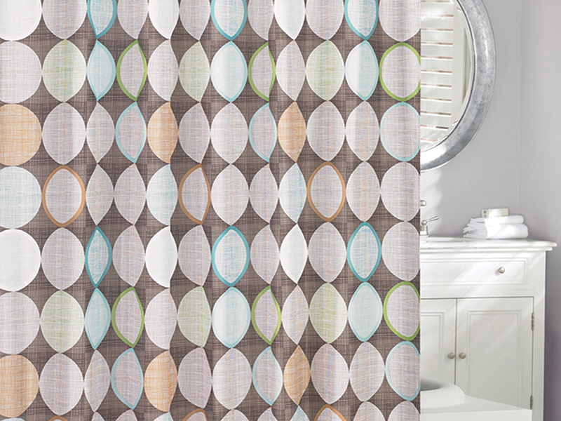Multi Circles <br>Shower Curtain