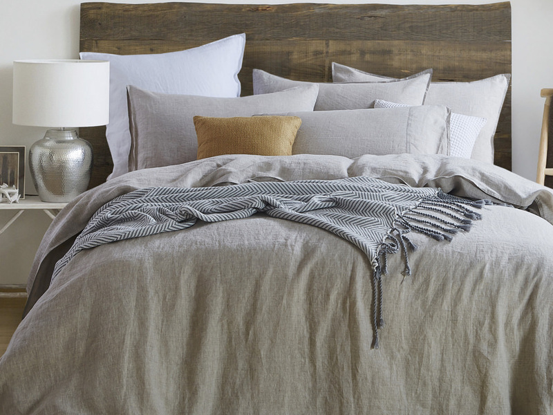 Natural Linen Bedding <br>by Daniadown