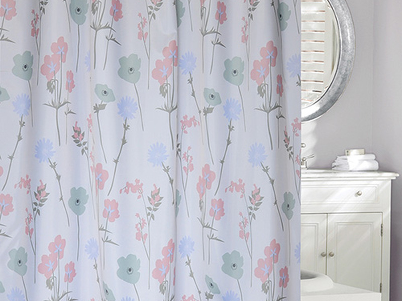 Pastel Floral <br>Shower Curtain