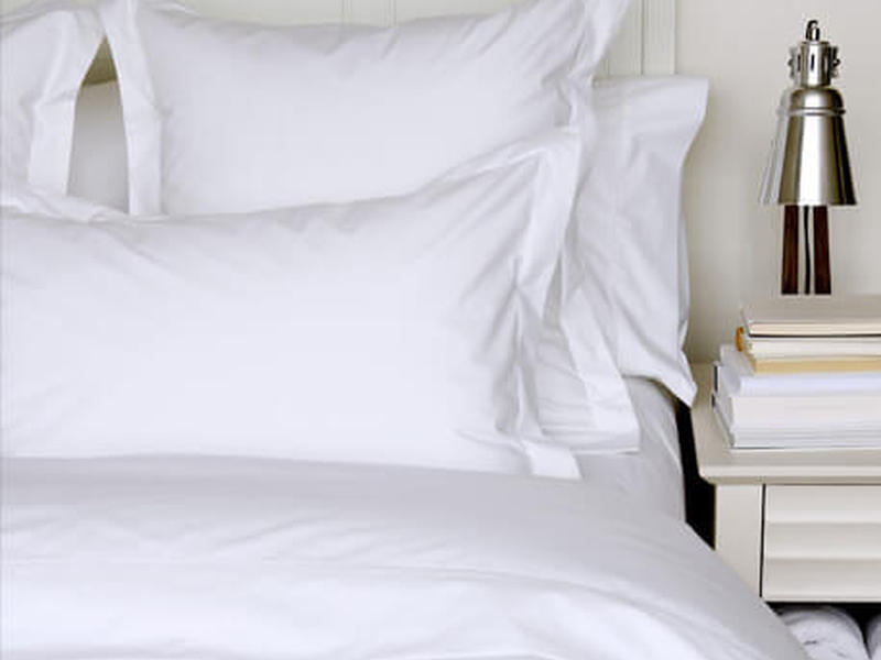 Percale Deluxe Bedskirts <br>by Cuddle Down