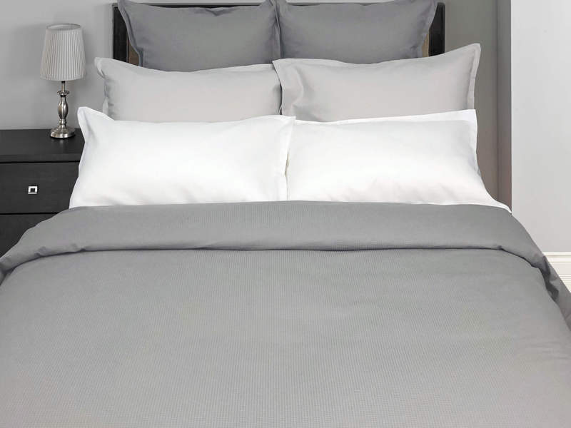 Pique White Bedding <br>by Cuddle Down