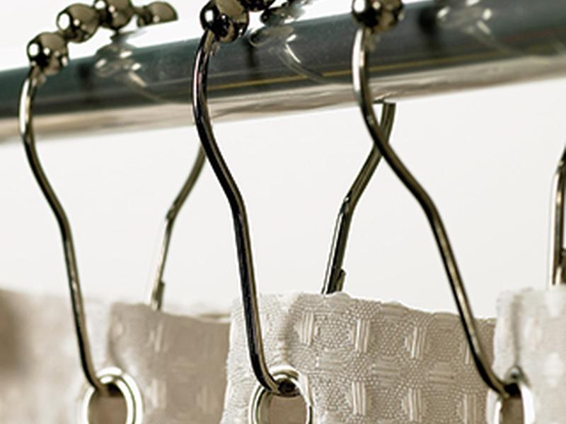 Roller Shower Curtain Hooks