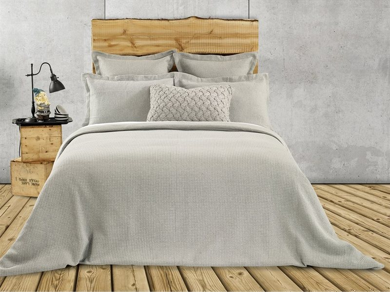 Rustic Grey Bedding <br>by Brunelli