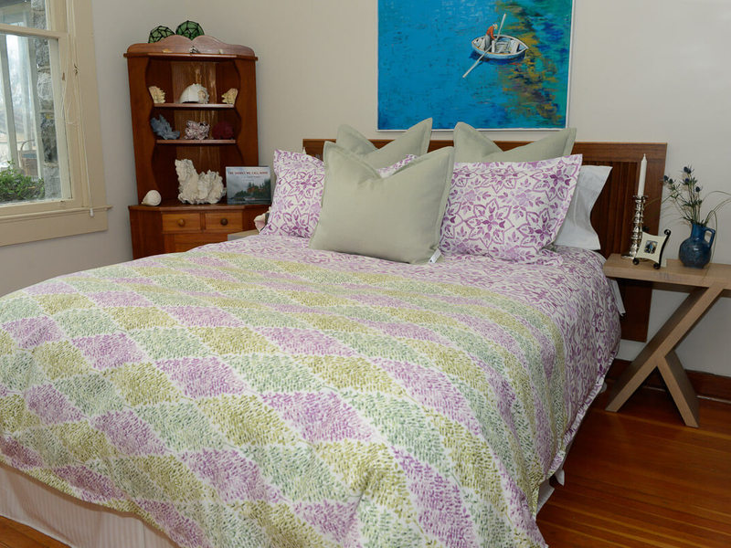 Kaleidoscope Sea Urchin Bedding <br> by Cover Story