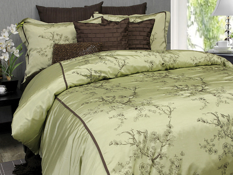 Silk Blossoms Bedding <br>by Alamode