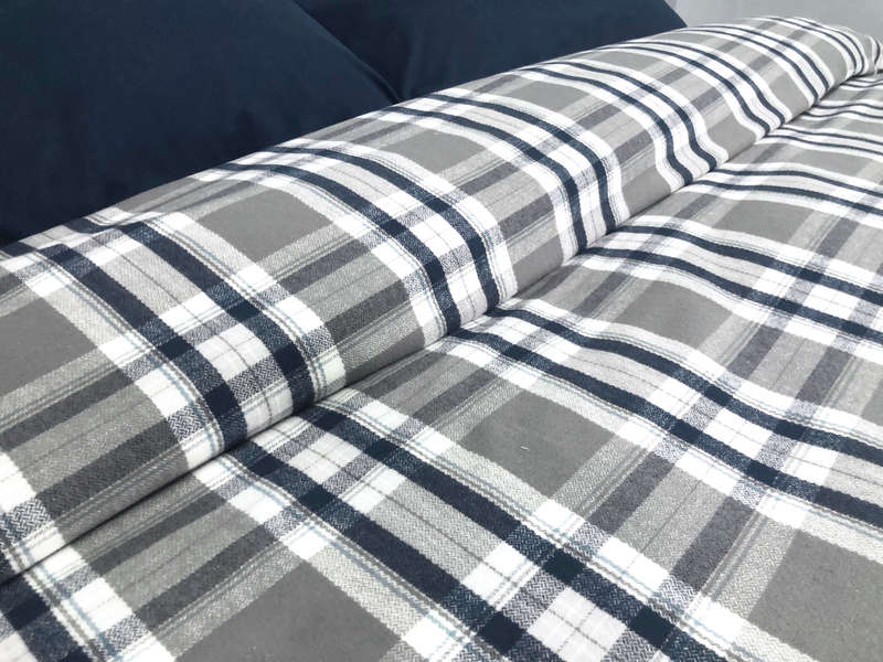 Simon Flannel Bedding <br> by Cuddle Down