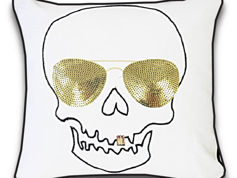 "Skull ""Gangsta"" Cushion"